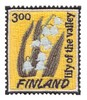 Finland Stamp(  Lily of the Valley )