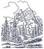 Alpine Scene Landscape ( small )