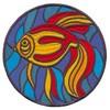 Fish (Square Hoop)
