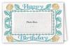 Happy Birthday Roses - Photo Greeting Card