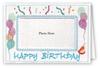 Happy Birthday Balloons - Photo Greeting Card