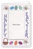 Happy Easter Egg Basket - Photo Greeting Card