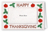 Happy Thanksgiving - Photo Greeting Card