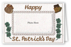 Happy St. Patrick's Day - Photo Greeting Card