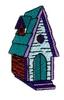 Gothic Birdhouse