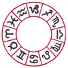Zodiac Wheel (Square Hoop)