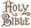 Holy Bible Book Cover A