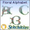 Floral Alphabet - Pack