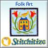 Folk Art Applique - Pack