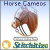 Horse Cameos - Pack