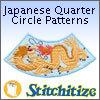 Japanese Quarter Circle Patterns - Pack