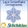 FSL - Lace Snowflake Ornaments - Pack
