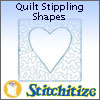 Quilt Stippling Shapes - Pack