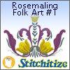 Rosemaling Folk Art #1 - Pack