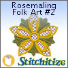 Rosemaling Folk Art #2 - Pack