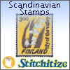 Scandinavian Stamps - Pack