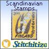 Scandinavian Stamps - Pack