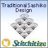 Traditional Sashiko Designs - Pack