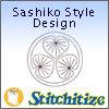 Sashiko Style Designs - Pack