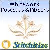Whitework     Rosebuds & Ribbons - Pack