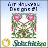 Art Nouveau Designs #1 - Pack