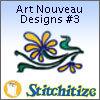 Art Nouveau Designs #3 - Pack
