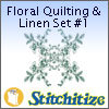 Floral Quilting & Linen Set #1 - Pack