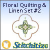 Floral Quilting & Linen Set #2 - Pack