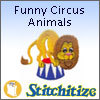 Funny Circus Animals - Pack