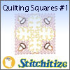 Quilting Squares #1 - Pack