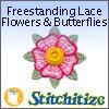 FSL - Freestanding Lace Flowers & Butterflies - Pack