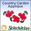 Country Garden Applique - Pack