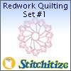 Redwork Quilting Set #1 - Pack