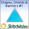 Shapes, Shields & Banners #1 - Pack