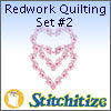 Redwork Quilting Set #2 - Pack