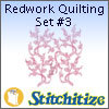 Redwork Quilting Set #3 - Pack