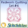 Redwork Quilting Set #4 - Pack