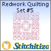 Redwork Quilting Set #5 - Pack