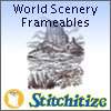 World Scenery Frameables - Pack