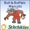 Bull & Buffalo Mascots - Pack