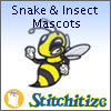 Snake & Insect Mascots - Pack