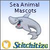 Sea Animal Mascots - Pack