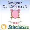 Designer Quilt Squares 3 - Pack