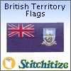 British Territory Flags - Pack