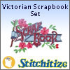 Victorian Scrapbook Set - Pack