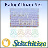 Baby Album Set - Pack