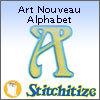 Art Nouveau Alphabet - Pack
