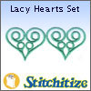 Lacy Hearts Set - Pack