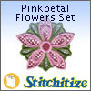 Pinkpetal Flowers Set - Pack