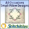 All Occasions Small Pillow Designs - Pack